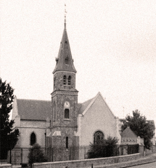 L'église de Vaugrigneuse